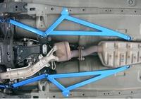 CUSCO 672 492 С К-т нижних продольных усилителей кузова для Subaru IMPREZA GDA/GDB