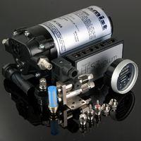 AQUAMIST 806-065-DR Система впрыска HFS4-v3.1, бак 5L drilled 1.2/1.2/0.8 (red)