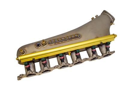 Титановый впускной коллектор 2JZ-GTE(titanium intake manifold 2jz-gte)