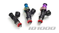 INJECTOR DYNAMIC 1000.13.07.60.11.4 К-т форсунок ID1000 для SR20DET RWD. Top feed only. 11mm (blue)