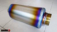 Опаленный титановый резонатор от Garage13