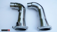 Downpipe Porsche 911 Turbo (кузов 991) 3,8л