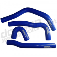 DODSON EVOX RHK К-т патубков радиатора, синий (EVOX SILICONE RADIATOR HOSE KIT - BLUE) для EVO X